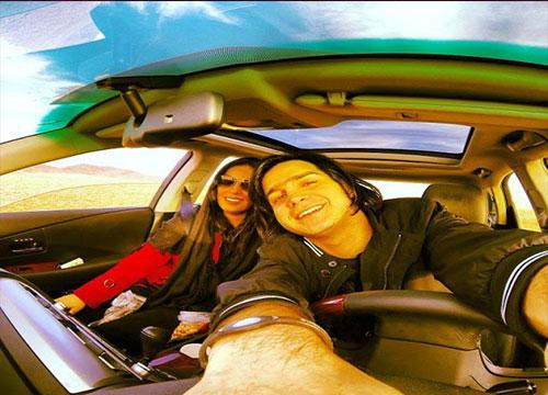www.ebhamlinks.com | عکس جدید محسن یگانه و همسرش