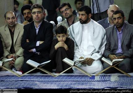 محفل انس با قرآن با حضور رهبر معظم انقلاب به روایت تصویر