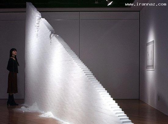 عکس هایی از خلق آثار شگفت انگیز با دانه های نمک ، www.irannaz.com