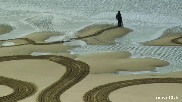 نقاشی باور نکردنی بر روی سواحل لندن + عکس های زیبا