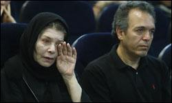 عکس خبری: اشک های هما روستا در فراق حمید سمندریان