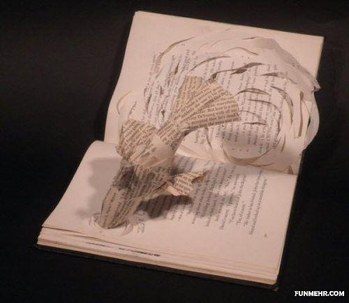 خلق آثار حیرت آنگیز و زیبا با کتاب