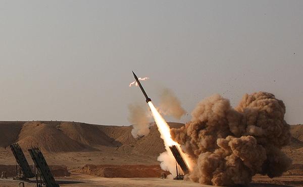 حمله موشکی سپاه ایران به داعش در سوریه