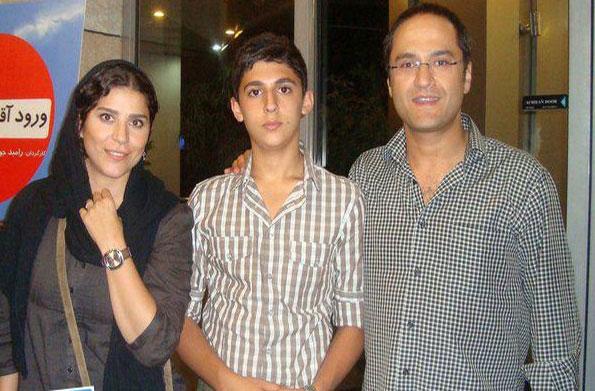 www.ebhamlinks.com   عکس خانوادگی سحر دولتشاهی ،رامبدجوان و پسرشان