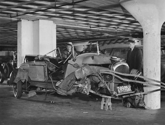 عکس - تصادف خودروها 80 سال پیش
