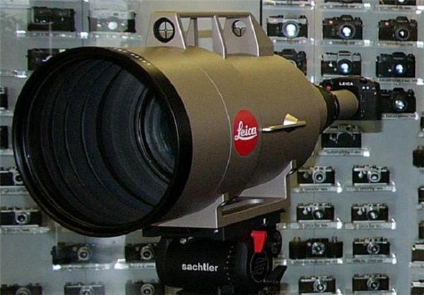 گرانترین لنز عکاسی در دنیا