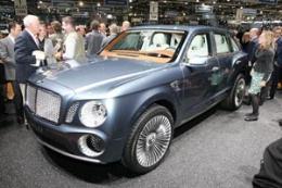 حضور بنتلی در نمایشگاه اتومبیل مسکو