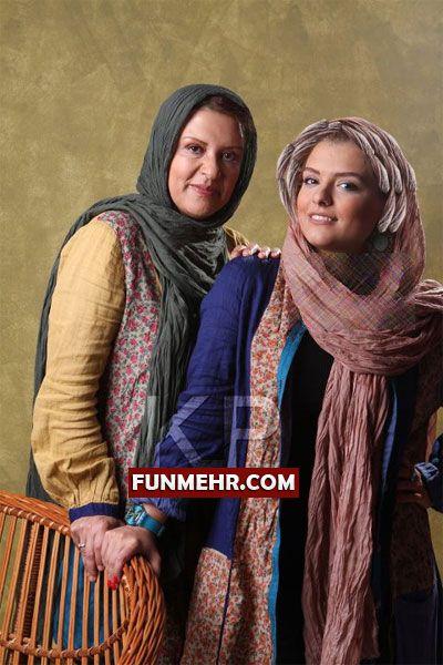 تصویری از دختر رویا تیموریان در کنار مادر