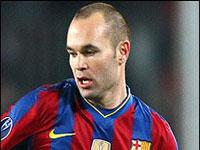 آندرس اینیستا بهترین بازیکن اروپا شد