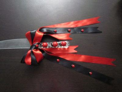www.ebhamlinks.com   مدل های تزیین چاقو کیک و جام عسل سفره عقد