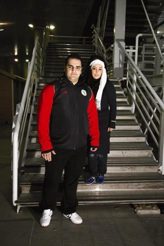 www.ebhamlinks.com | عکسهای بهداد سلیمی و همسرش آلما نصرتی