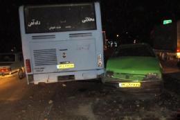 عابر پیاده عامل حادثه اتوبان یاسینی