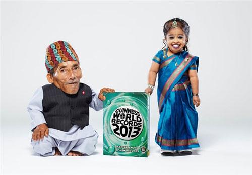 کوچکترین زن و مرد جهان