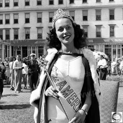 ملکه زیبایی امریکا,اولین ملکه زیبایی امریکا