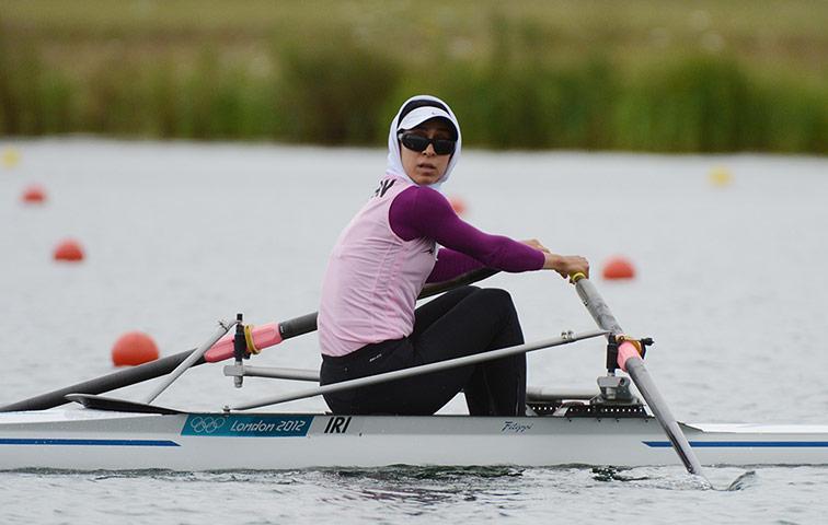 www.ebhamlinks.com | عکس دختران ورزشکار ایرانی در المپیک لندن