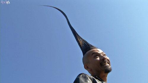بلندترین موی ایستاده جهان