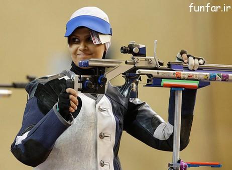 الهه احمدی بانوی موفق المپیک ایران