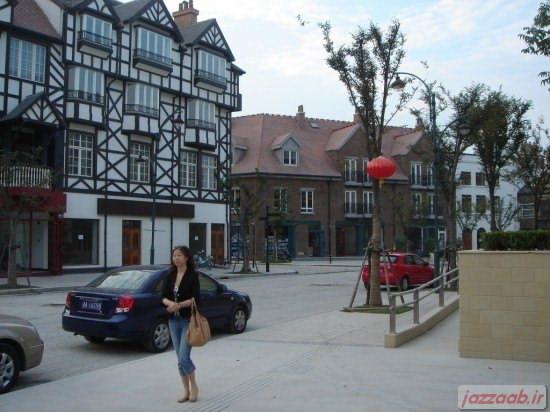 کپی کردن یکی از محله های لندن توسط چینی ها +تصاویر-www.jazzaab.ir