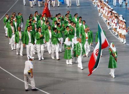 اولین گروه ورزشکاران ایران وارد لندن شدند