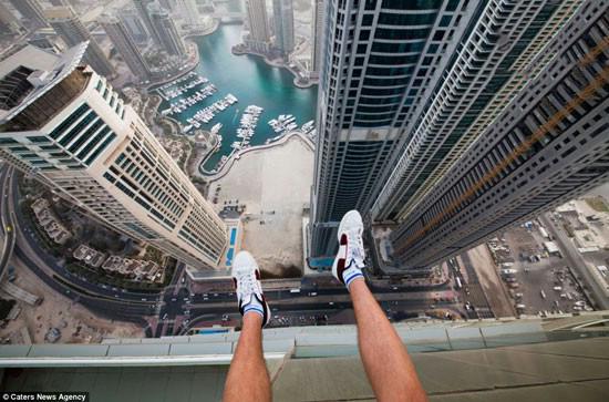 زیبایی های دبی از بالا