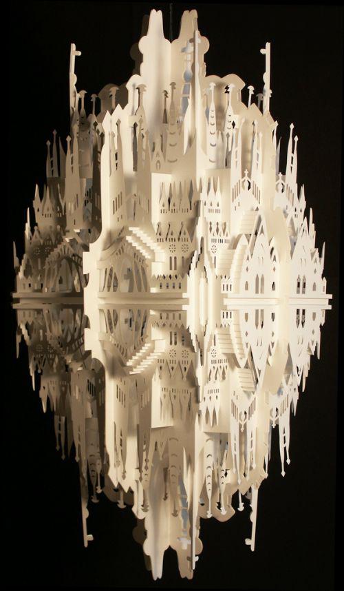 ساختمان هایی از جنس کاغذ