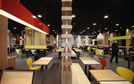 بزرگترین رستوران مک دونالد جهان