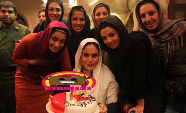 1568548965312065853284  جشن تولد الناز شاکردوست در کنار دوستان! (عکس)