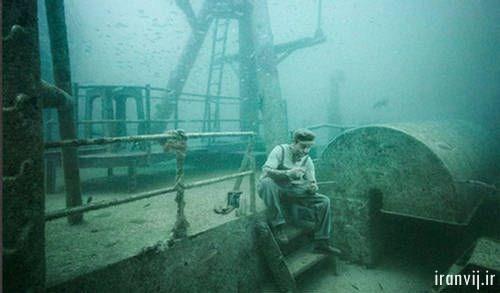 گالری هنری زیر آب
