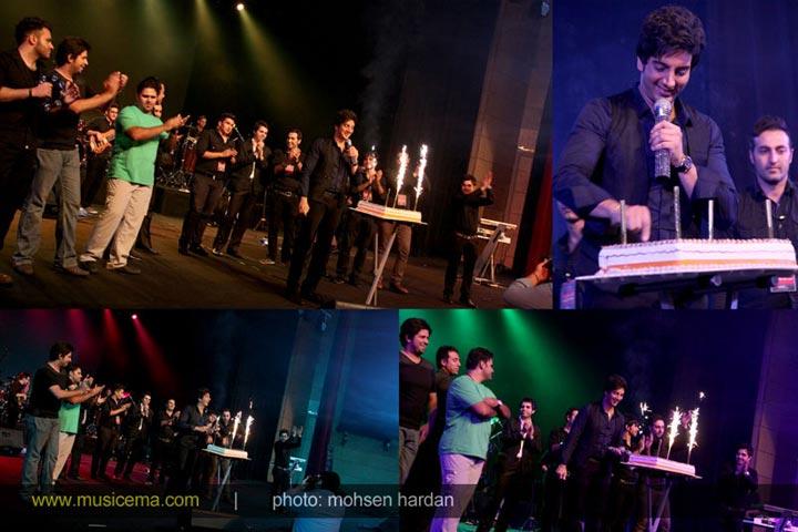 35126250254587581452 گزارش تصویری از کنسرت عجیب فرزاد فرزین در برج میلاد