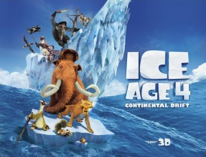 «عصر یخی ۴» پرفروشترین فیلم سینماهای جهان شد