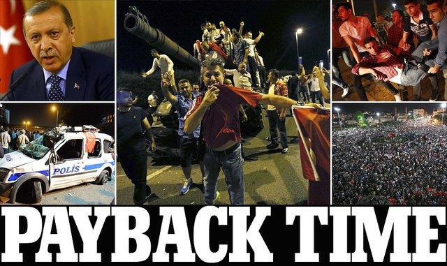 هشدار کردهای ترکیه به اردوغان + جدیدترین اخبار کودتای ترکیه