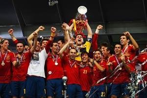 62153696584587585259 جشن قهرمانی اسپانیا در فینال یورو ۲۰۱۲/گزارش تصویری