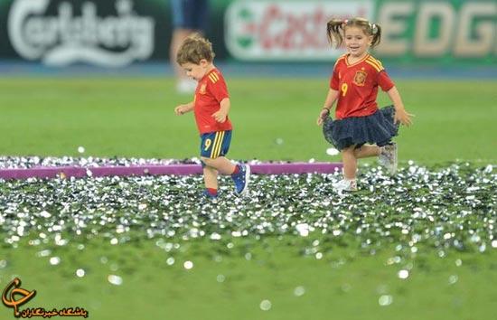 62758369654125025362 جشن قهرمانی اسپانیا در فینال یورو ۲۰۱۲/گزارش تصویری