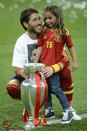 64125569968578584585 جشن قهرمانی اسپانیا در فینال یورو ۲۰۱۲/گزارش تصویری