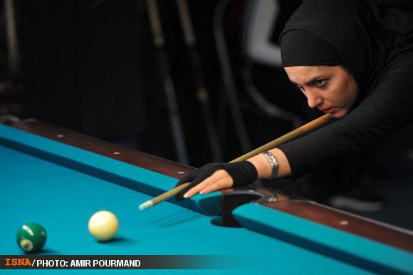 78716 282 عکسهایی از دختران بیلیارد باز ایرانی