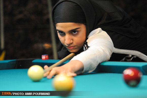 78722 504 عکسهایی از دختران بیلیارد باز ایرانی