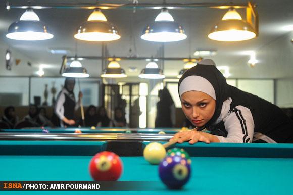 78723 486 عکسهایی از دختران بیلیارد باز ایرانی