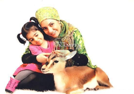 88857511425689857375 عکس های جدید بازیگران زن ایرانی با حیوانات