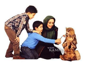 89254458865362536271 عکس های جدید بازیگران زن ایرانی با حیوانات