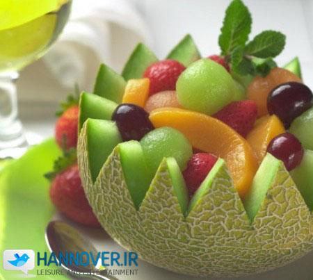 سالاد میوه به سبک بلغاری