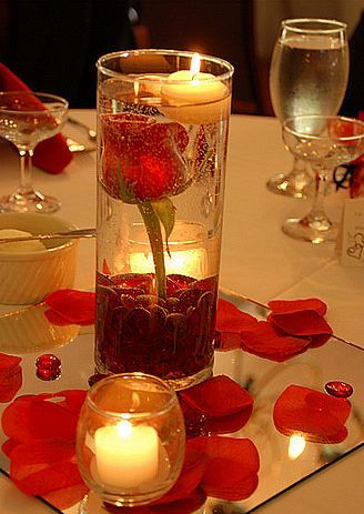تزئین منزل با شمع ها