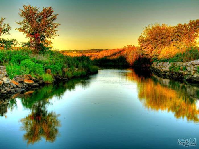 رنگ سال اروپا تصاویر فوق العاده زیبا و جذاب از رودخانه ها - جديدترين ...
