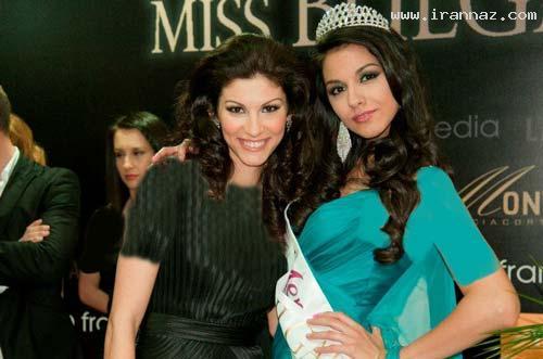 عکسهایی از معلمی که زیباترین دختر بلغارستان شد ، www.irannaz.com
