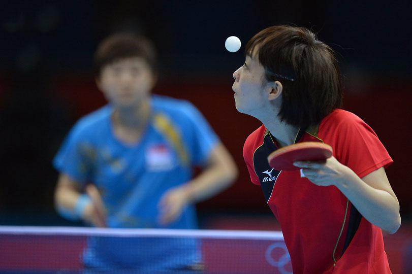 Image result for مسابقات تنیس روی میز پسران عکس