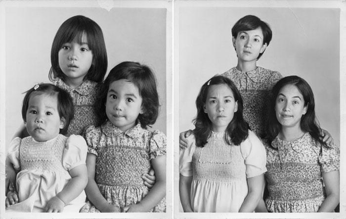 تکرار عکس های جوانی و خاطره انگیز