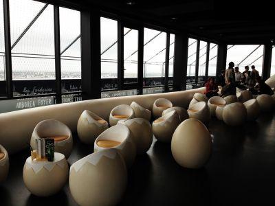 تصاویر رستوران تخم مرغی در فرانسه