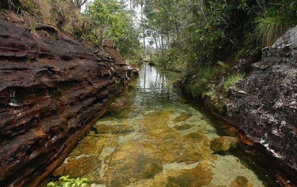 تصاویر زیبا از رنگی ترین رودخانه جهان
