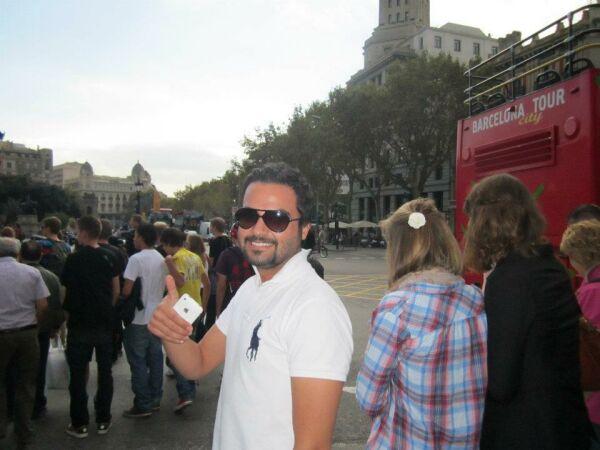 عکس های مهدی سلوکی در خیابان های پاریس