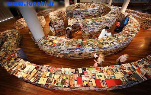 تصویر های جالب از حراج کتاب در ایران و لندن