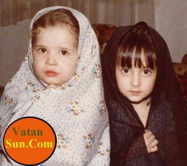 مقایسه کودکی و زمان حال مهراوه شریفی نیا+عکس